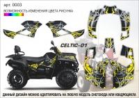 Наклейка Celtic-01