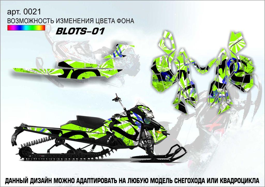 Наклейка Blots-01