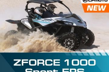 Абсолютно новый CFMOTO – ZFORCE 1000 Sport EPS!